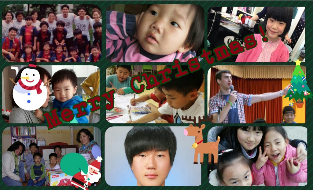Merry Christmas from Korean Kids and Orphanage Outreach Mission