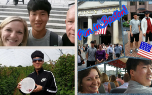 JD spent the summer in the US and is now back in Korea preparing for his last year in college.