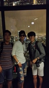 At Willis Tower in Chicago