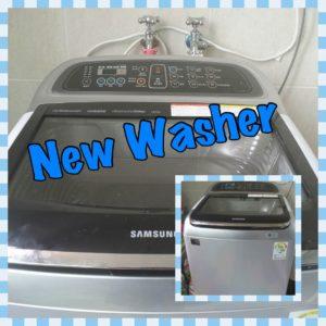 New Washing Machine at Samsungwon